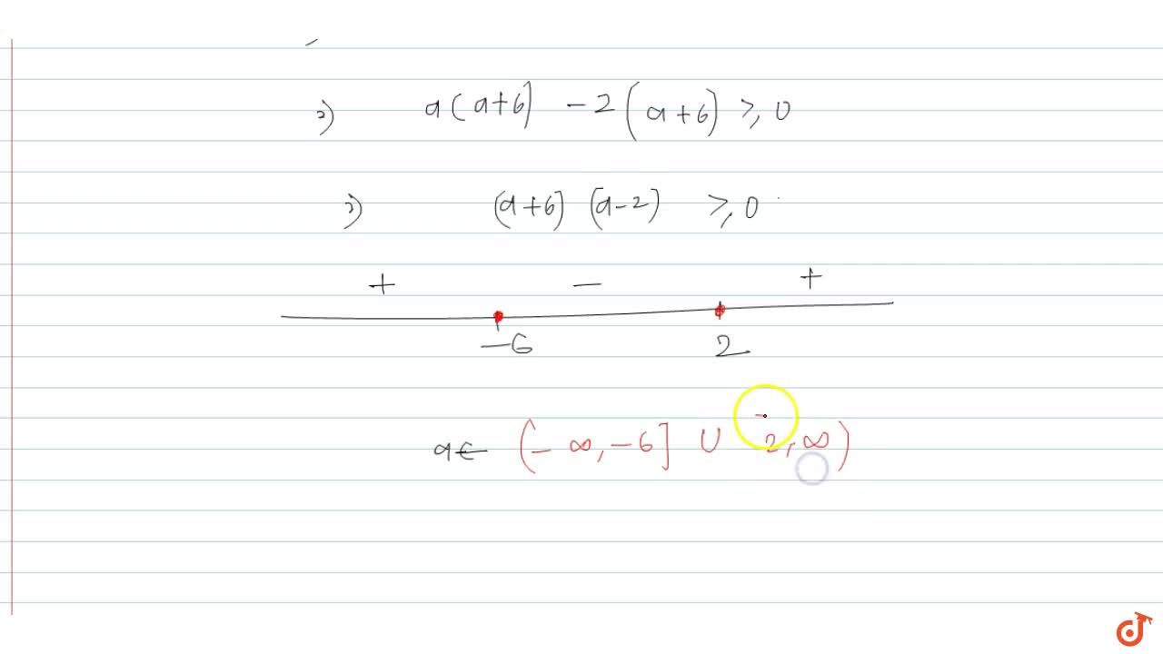 Solution for  Find the values of the parameter a for which 4^x