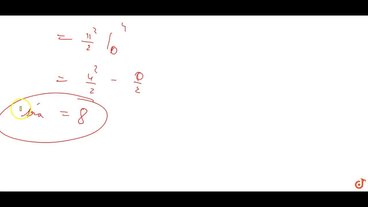 Using integration find the  area of the triangular region whose sides have the equations y = 2x + 1, y = 3x + 1 and x = 4.