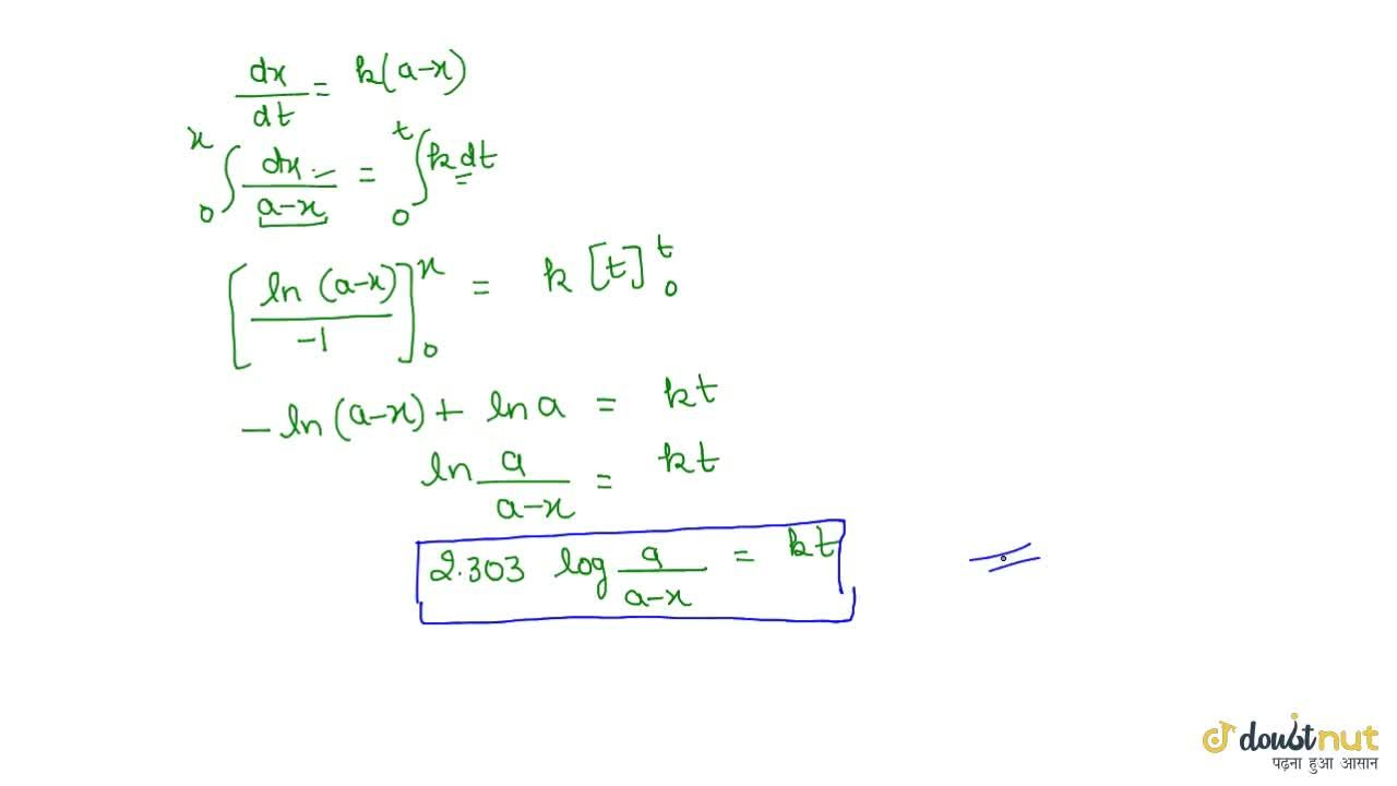 Solution for Derivation