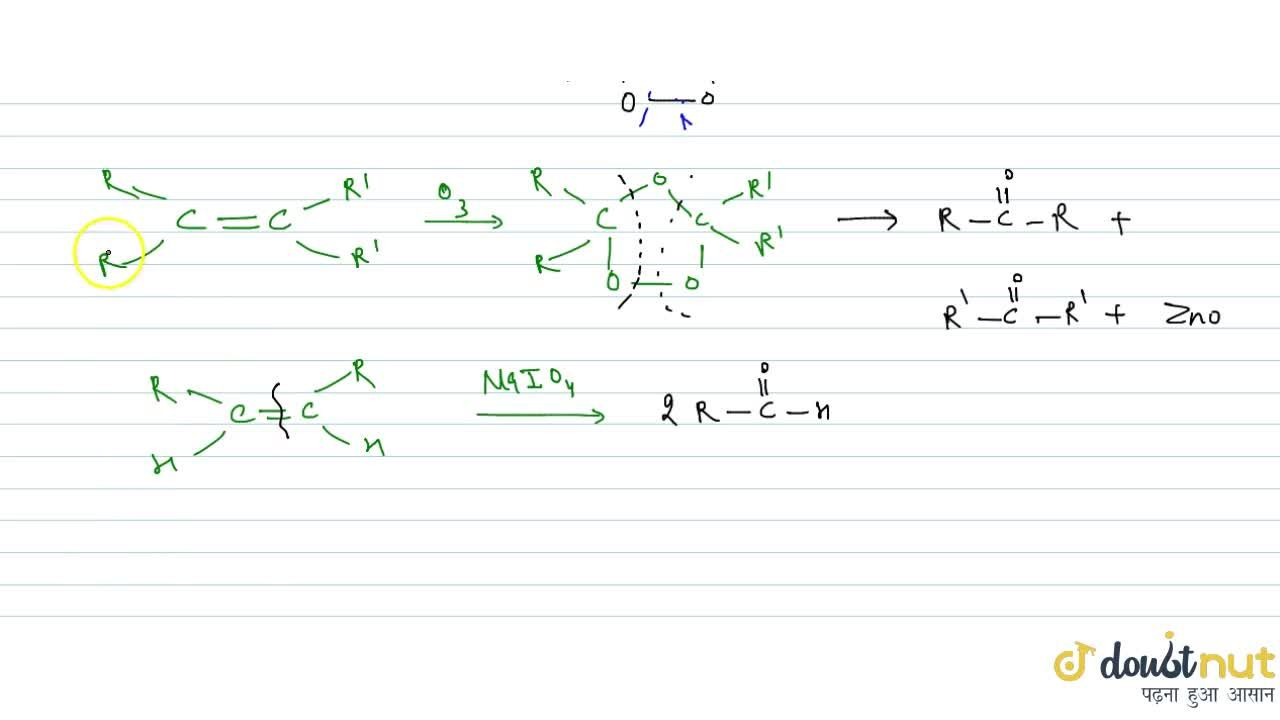 Solution for BY REDUCTIVE OZONOLYSIS: