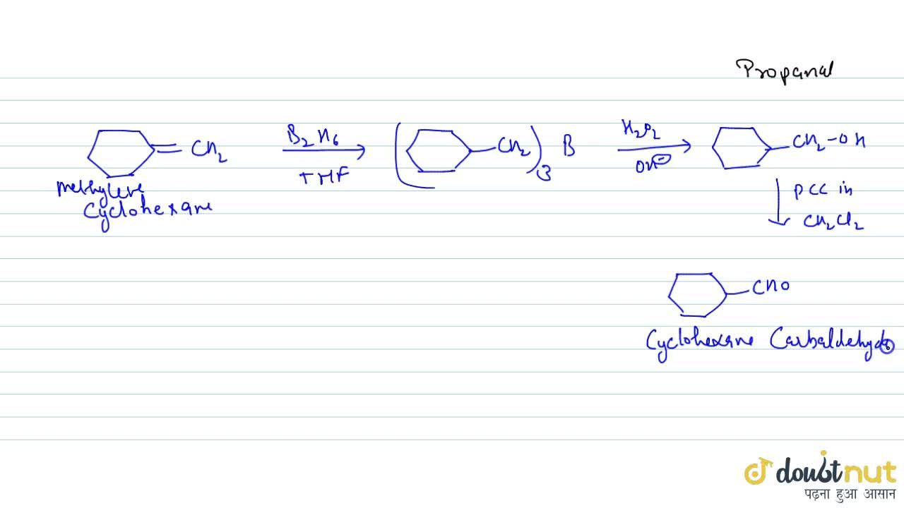 Solution for HYDROBORATION OXIDATION REACTION: