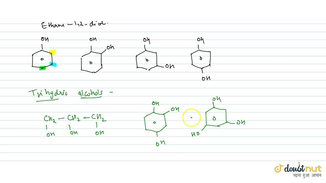 Solution for On The Basis Of No Of Hydroxyl Group