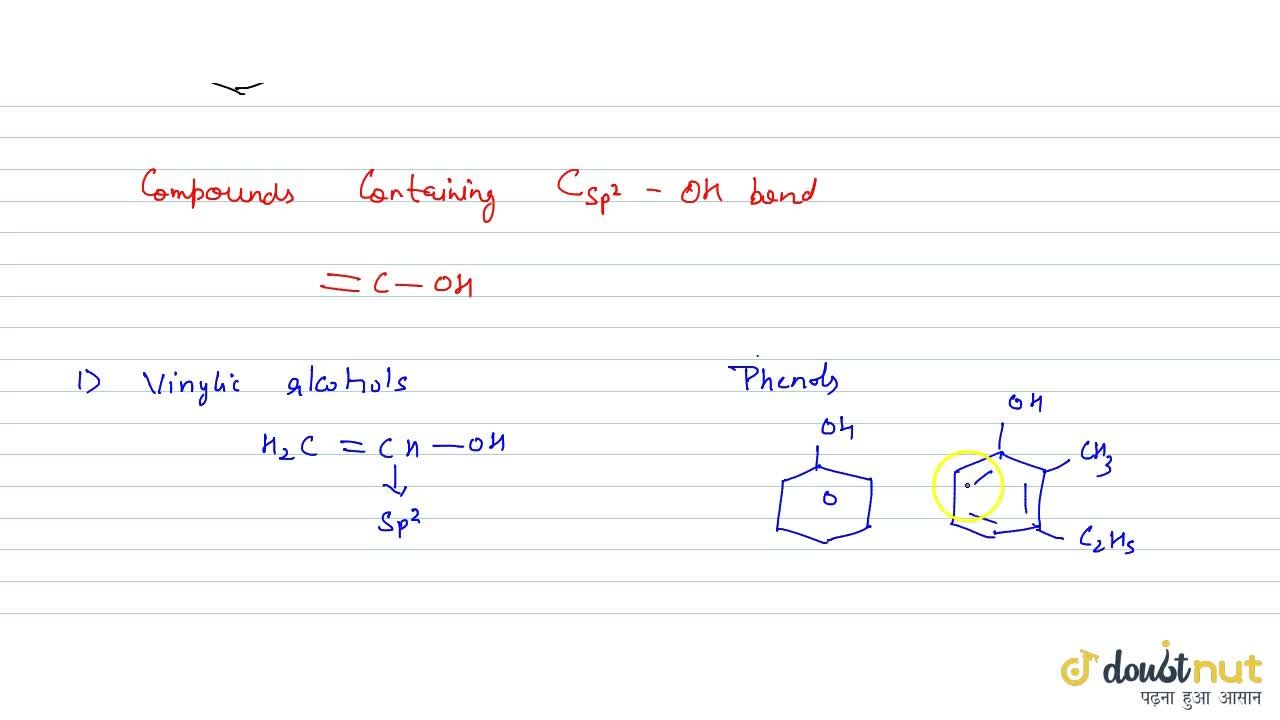 Solution for On The Basis Of Hybridisation Of Carbon
