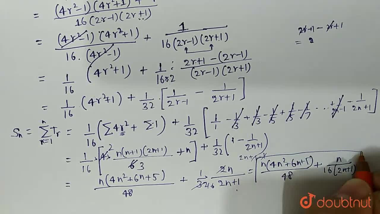 Solution for  Find the sum (1^4),(1xx3)+(2^4),(3xx5)+(3^4),(5x