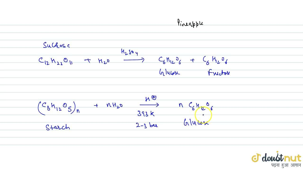 Solution for Synthesis Of Glucose