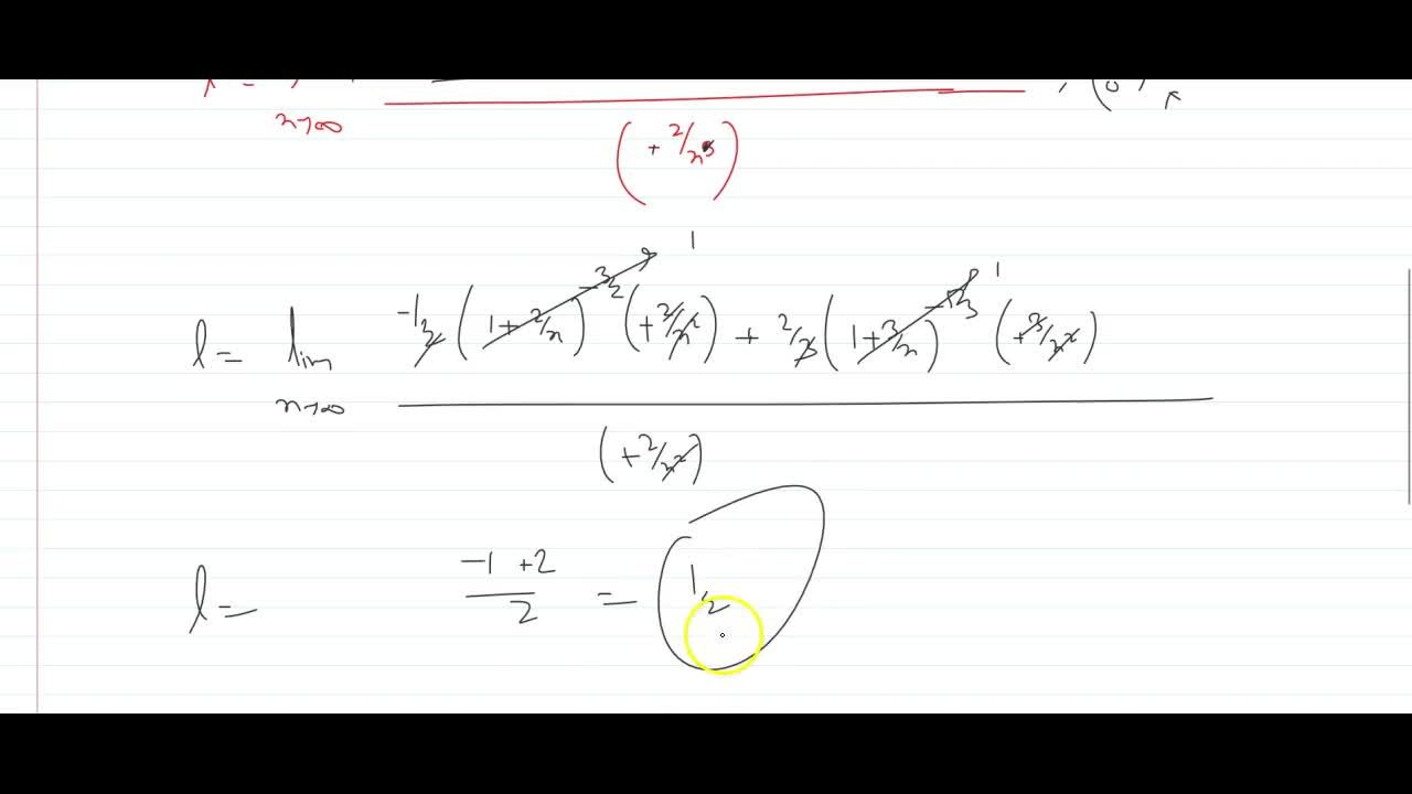 Solution for lim_(x ->oo)x^(2)(sqrt((x+2),(x))-root(3)((x+3),(