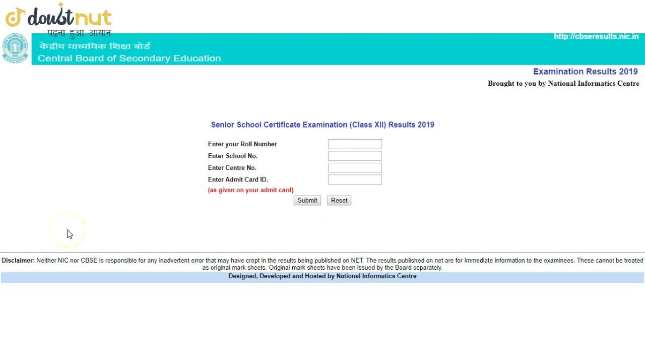Solution for CBSE Class 12 Result Announced | How To Check Resu