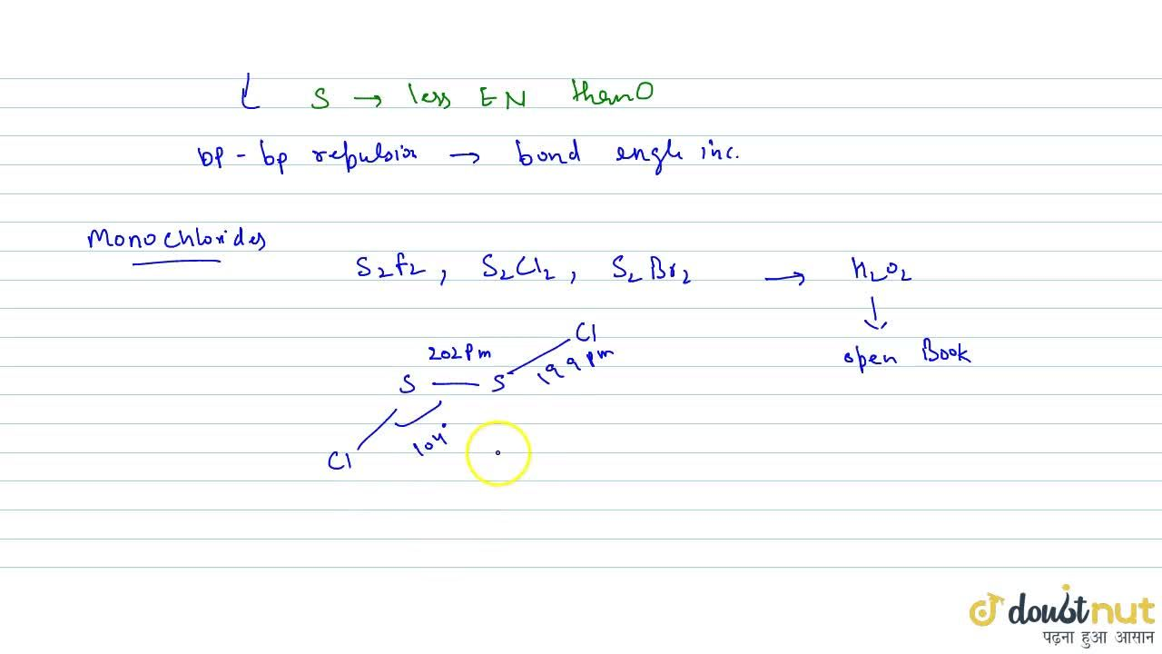 Solution for DIHALIDES & MONOHALIDES