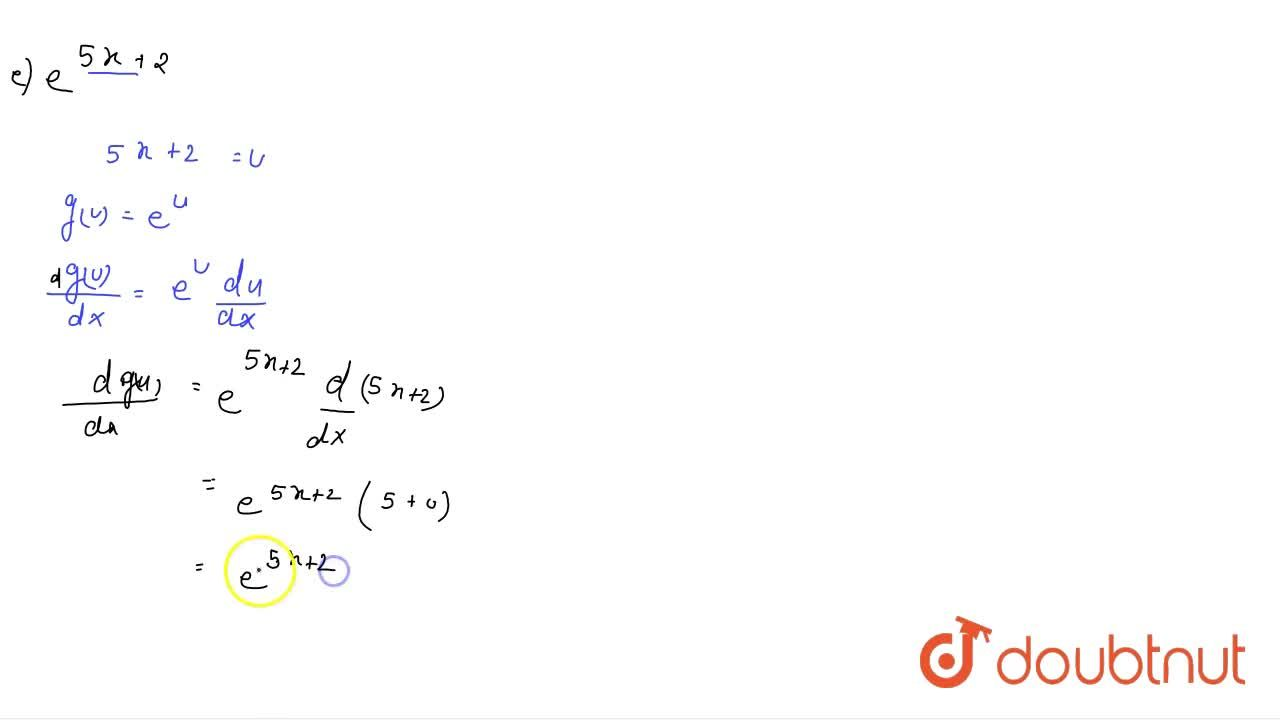 Solution for Differentiate the following functions with respect