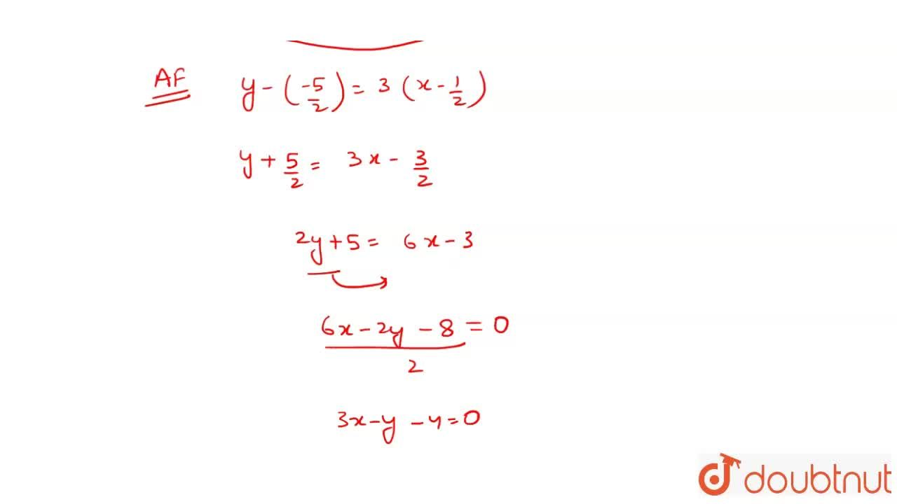 Solution for If A(1, 4), B(2, -3) and C (-1, -2) are the vert