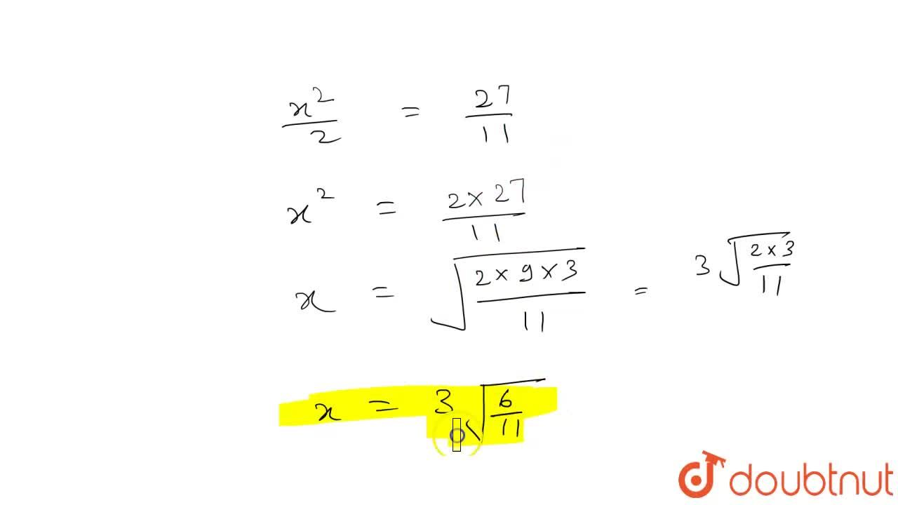Solution for निम्न समीकरण को हल कीजिए : <br> tan^(-1)(x+1)+cot