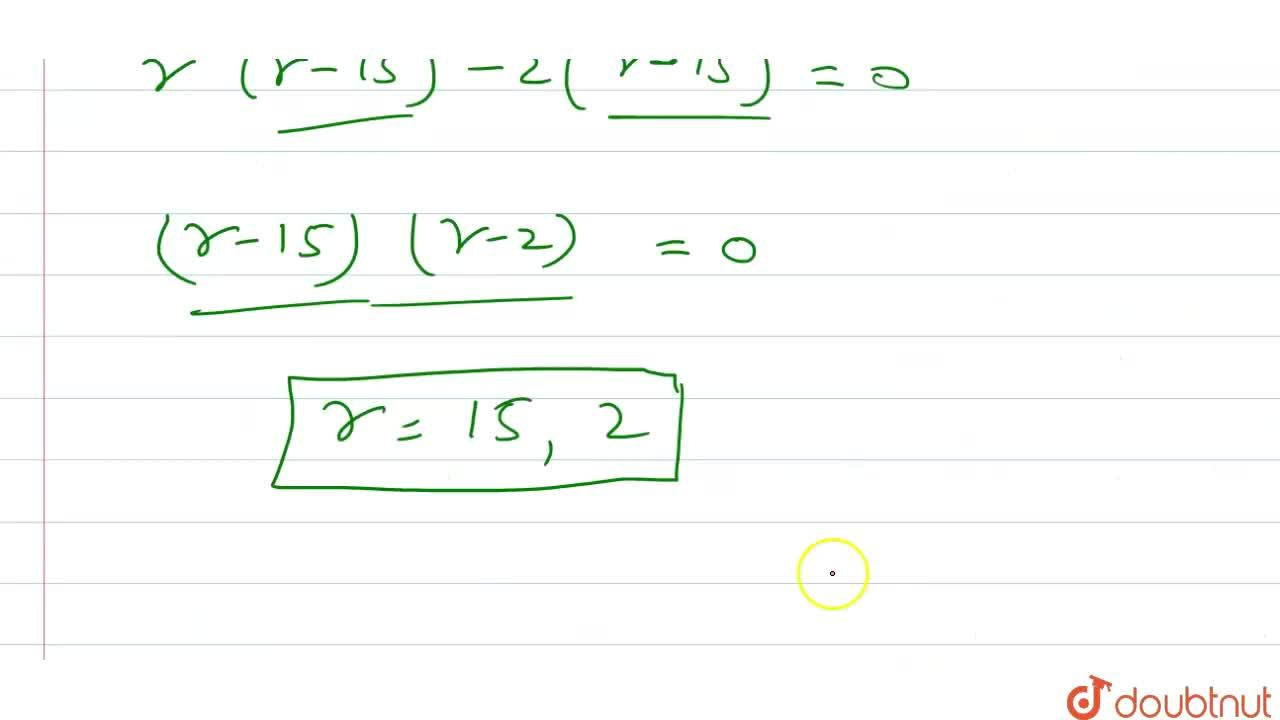 Solution for यदि (1),(.^(5)C_(r))+(1),(.^(6)C_(r))=(1),(.^(4)C