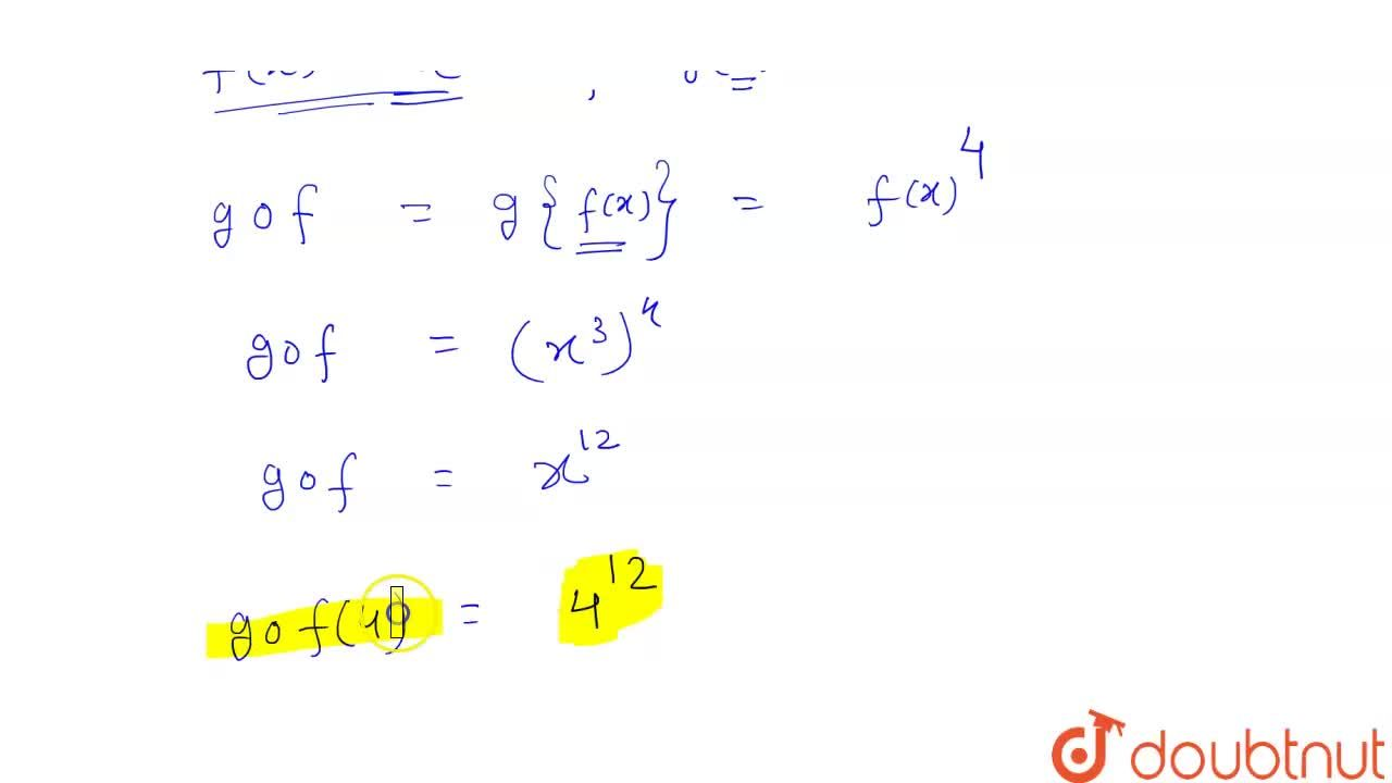 Solution for यदि f : R to R तथा g : R to R  क्रमशः f(x) =