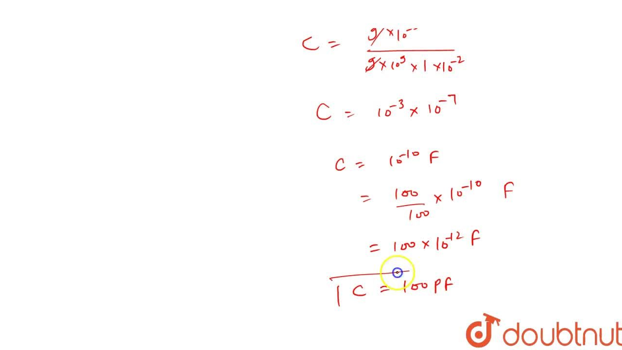 Solution for A spherical capacitor has an inner sphere of radiu