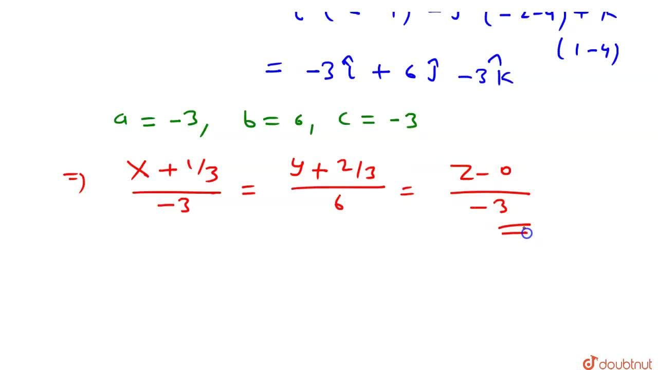 Solution for रेखा x+y+z +1=0, 4x+y - 2z +2 = 0  का सममित रूप
