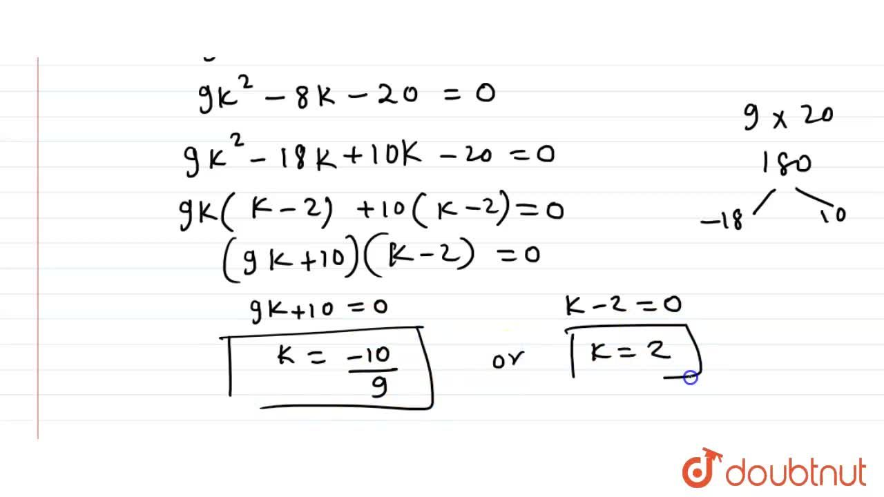 If -4 is a root of the equation x^2+2x+4p=0 then find the value of k for which the equation x^2+px(1+3k)+7(3+2k)=0 has equal roots