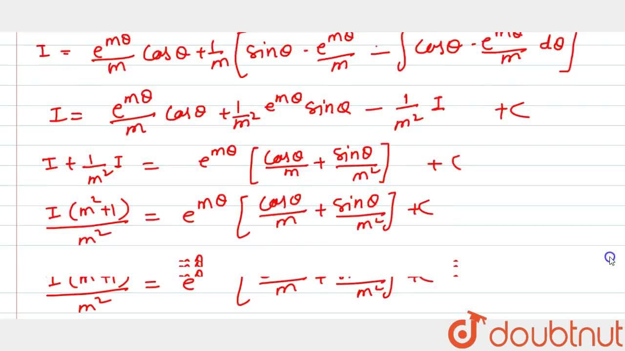Solution for Evaluate inte^(mtan^-1x),(1+x^2)^(3,2)dx