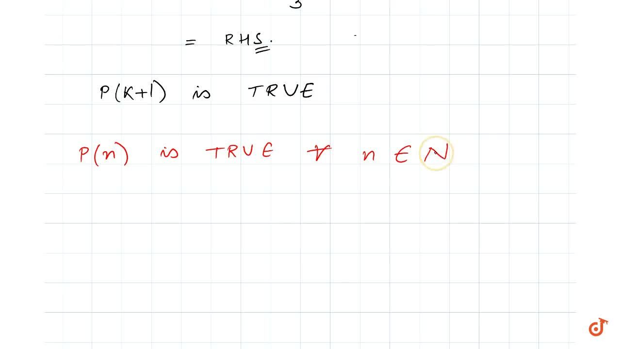 Solution for Prove the following by using the principle of  mat