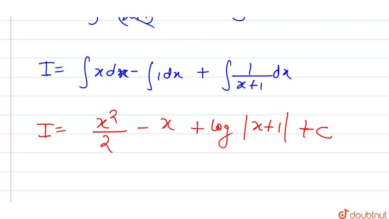 Solution for int (x ^(2)),( x +1) dx का मान ज्ञात कीजिए।