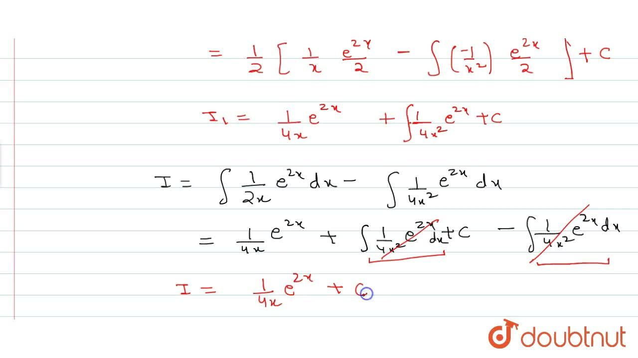 Solution for Evaluate: int(2x-1),(4x^2)e^(2x)dx