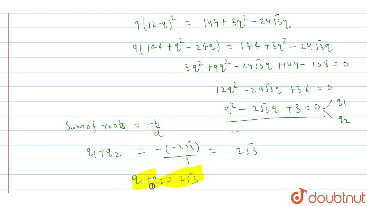 Solution for If the points (0,0), (3,√3 ), (p,q) form an equila