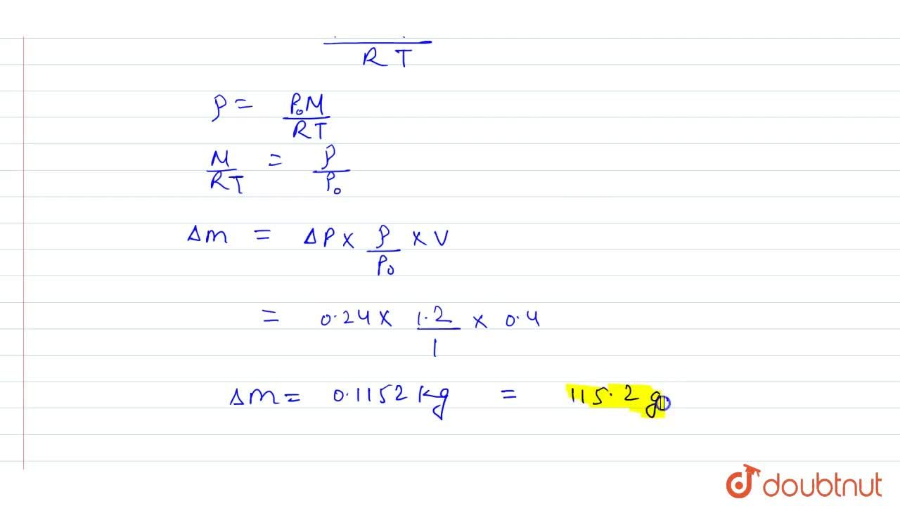 Solution for A perfectly conducting vessel of volume  V = 0.4m