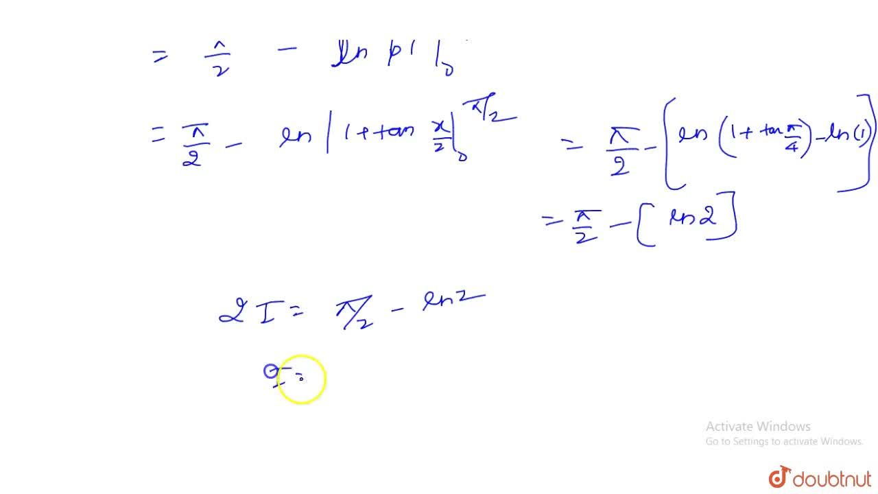 Solution for Evaluate int_0^(pi,2)cosx,(1+cosx+sinx)dx