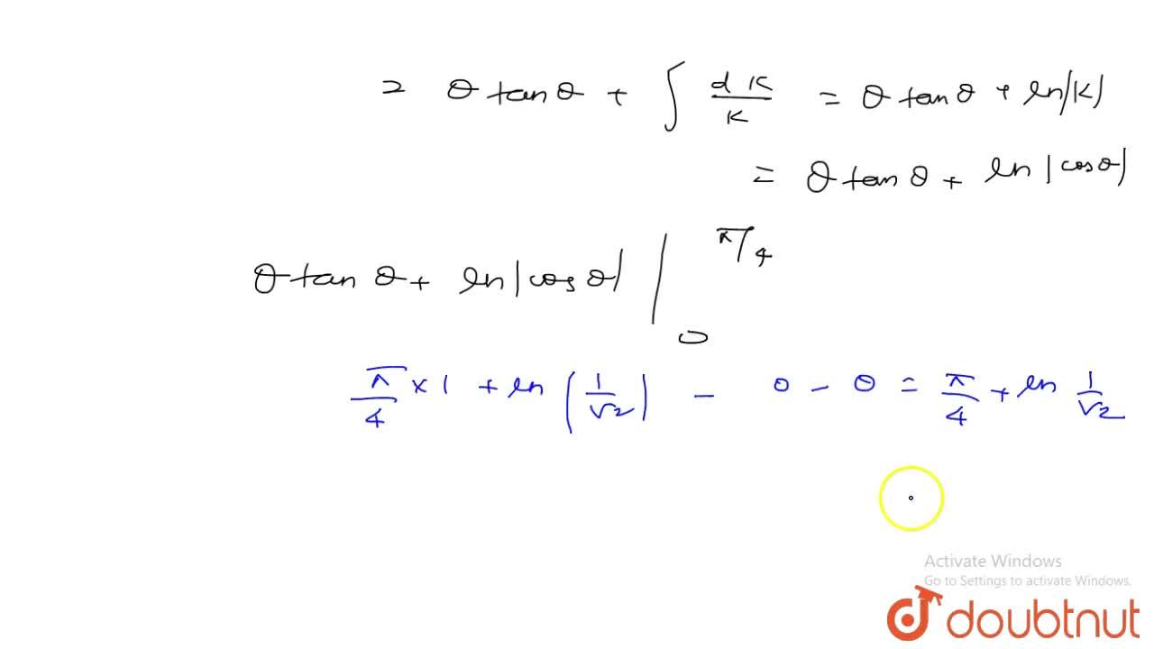 Solution for Evaluate: int_0^1sin^-1((2x),(1+x^2))dx