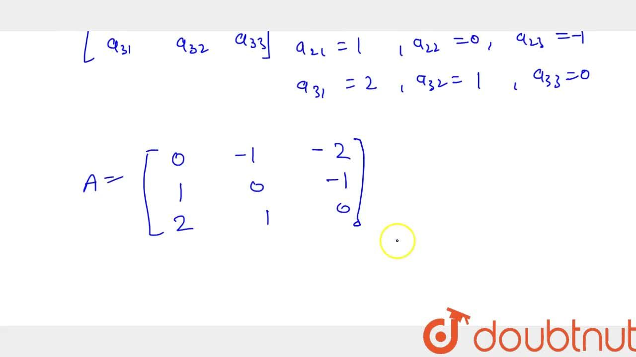 Solution for Construct 3xx3 matrix whose elements are given b