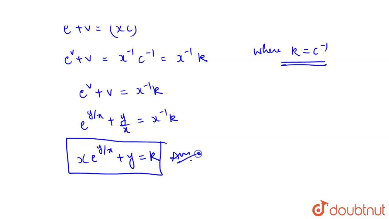 Find the general solution of the equation  (1+e^(y,,x)) dy + e^(y,,x) (1-(y),(x)) dx = 0.