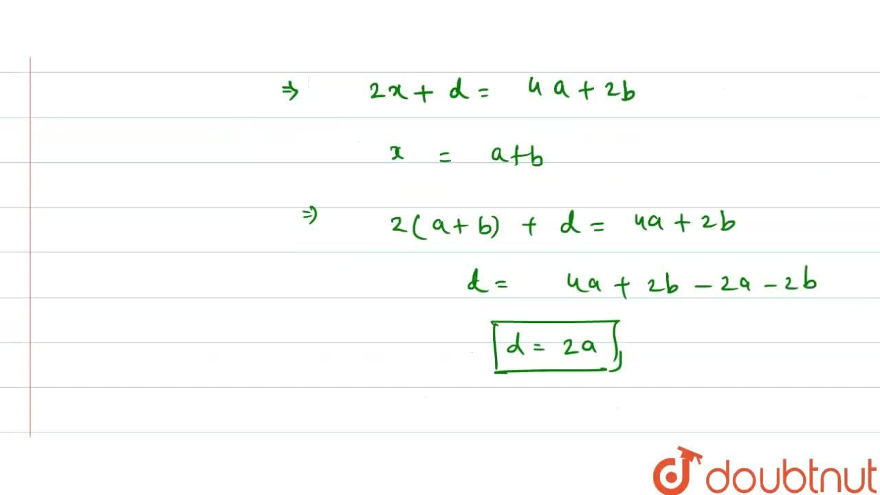 If the sum of first p terms of an AP is ap^2+bp find the common difference