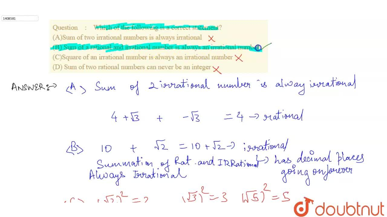 Solution for Which of the following is a correct statement?<br>