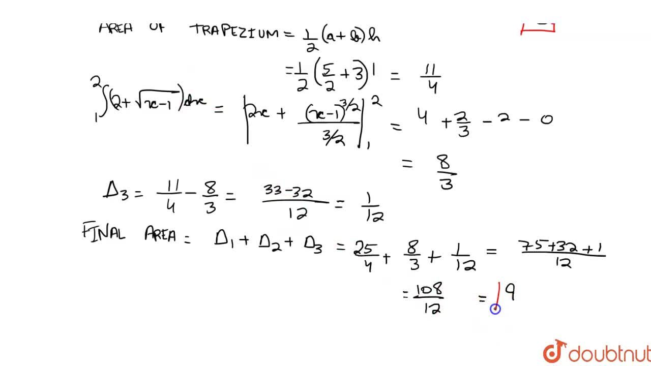 Solution for The area of the region bounded by the parabola (y