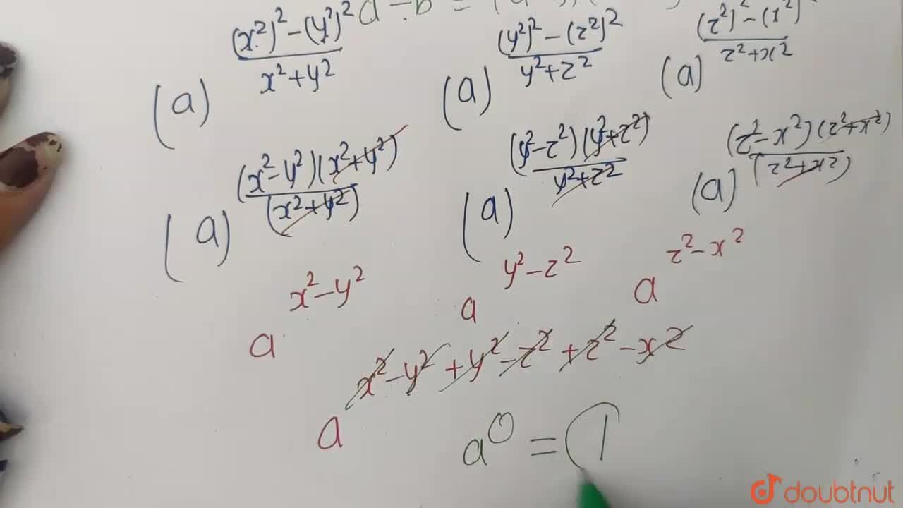 Solution for ((a^(x^(4))),(a^(y^(4))))^((1),(x^2+y^2))xx((a^(y