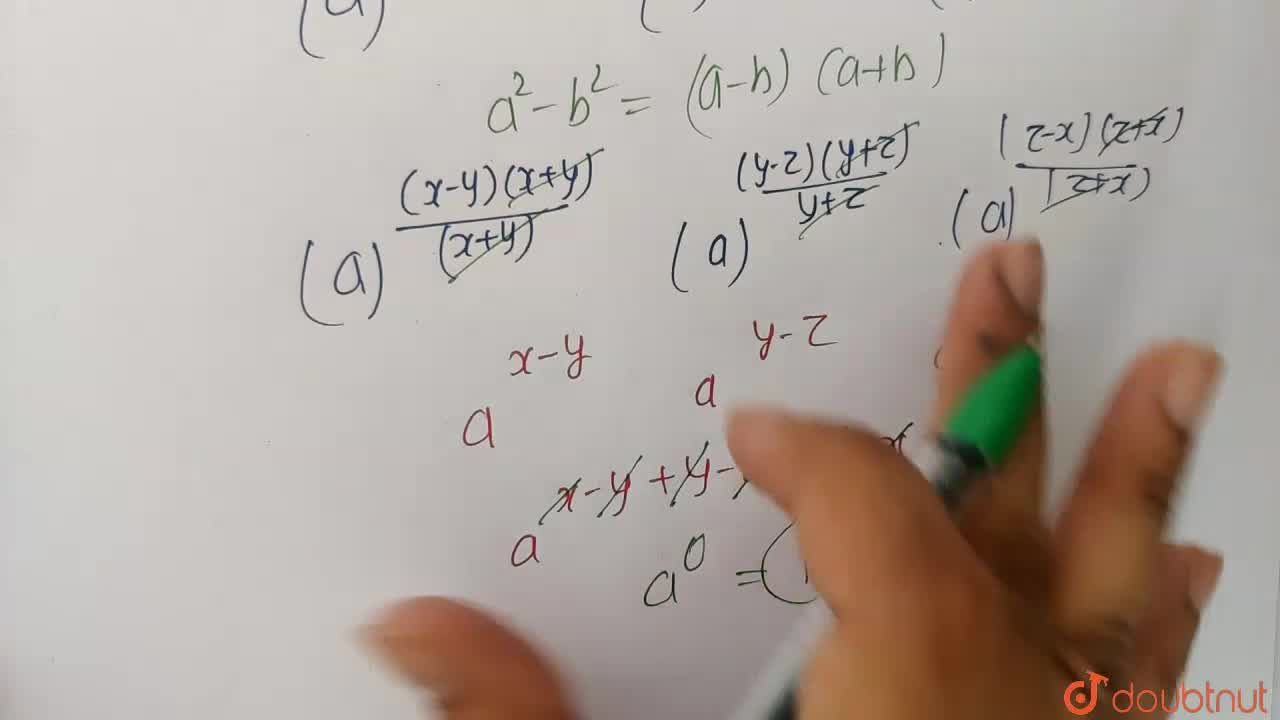 Solution for ((a^(x^(2))),a^(y^(2)))^((1),(x+y))xx((a^(y^(2)))