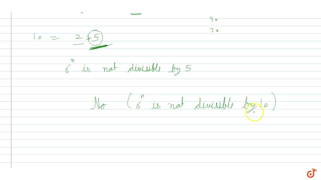 Solution for Check whether 6^ncan end with the digit 0 for