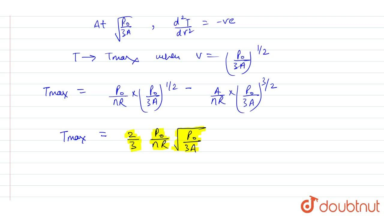 Solution for The pressure of an ideal gas varies according to t
