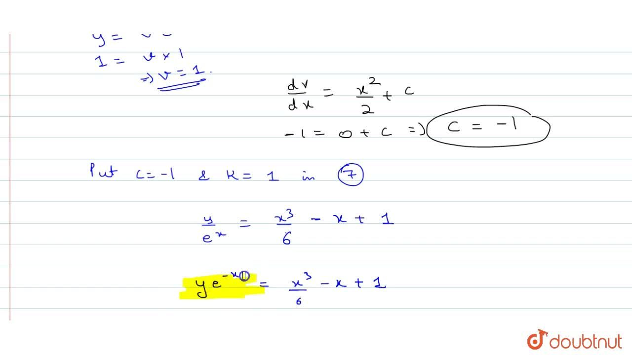 Solution for Reduce the differential equation (d^2y),dx^2-2 dy