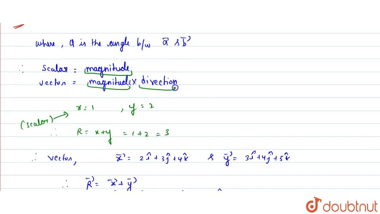 Solution for What do you understand by resultant vector ? Show