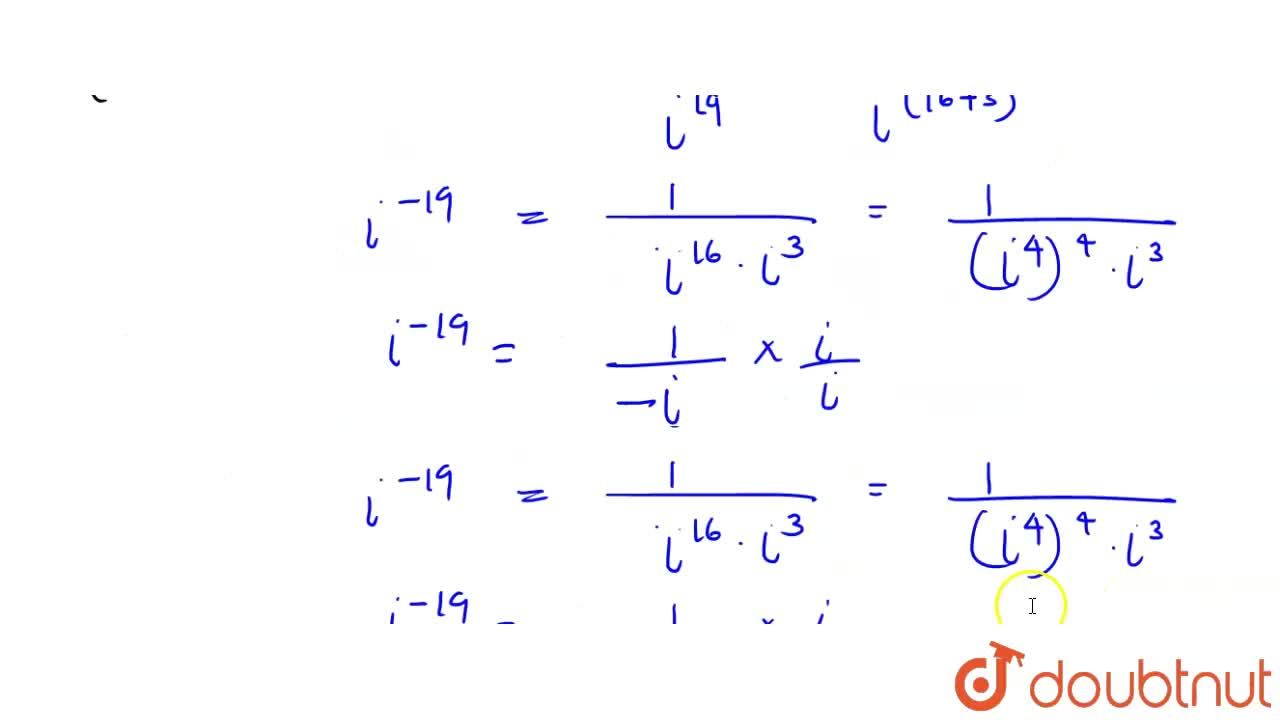 Solution for निम्न के मान ज्ञात कीजिए : <br> {:((i) i^(28),(ii