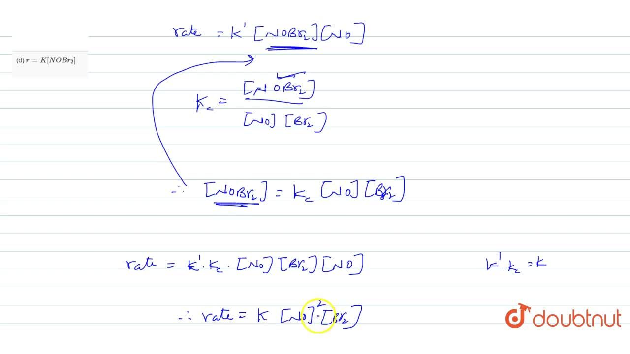 Solution for The rate and mechamical reaction are studied in ch