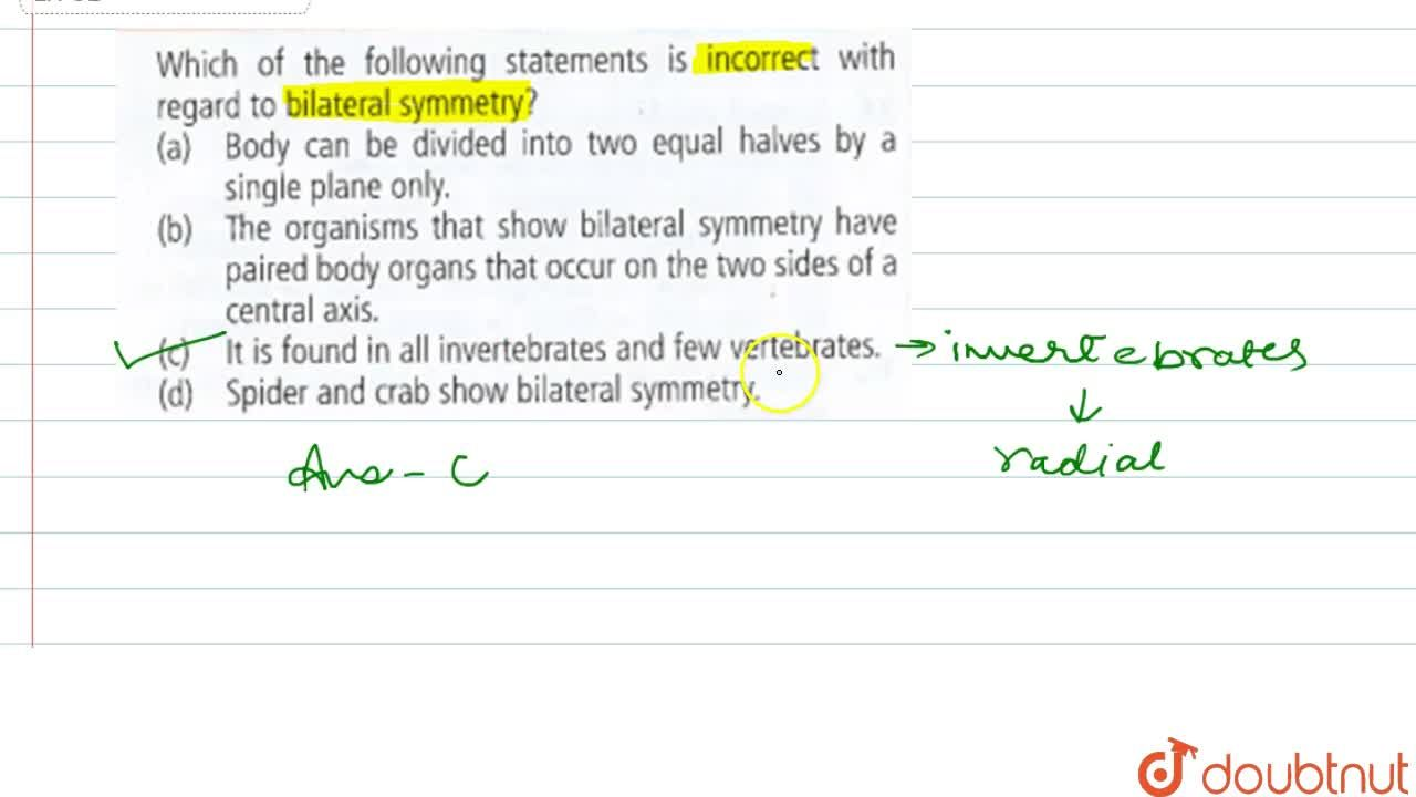 Solution for Which of the following statements is incorrect wit