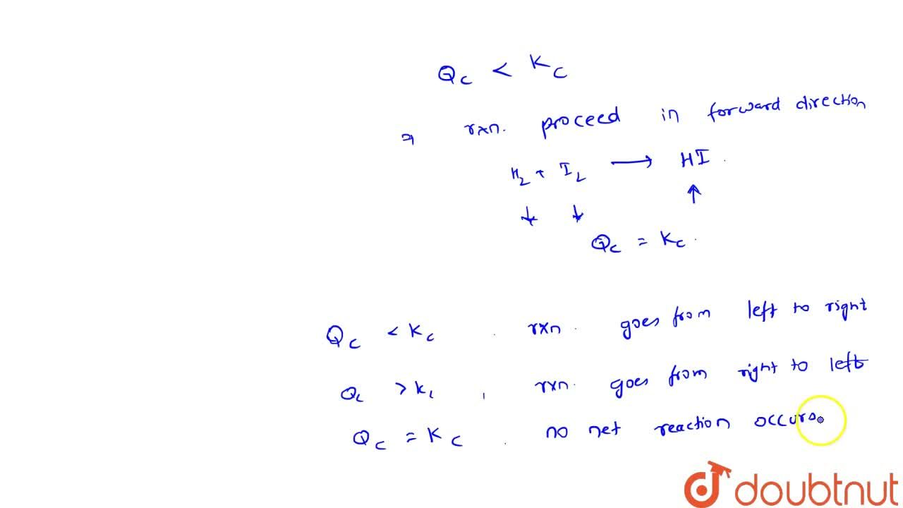 Solution for Predicting The Direction Of A Reaction