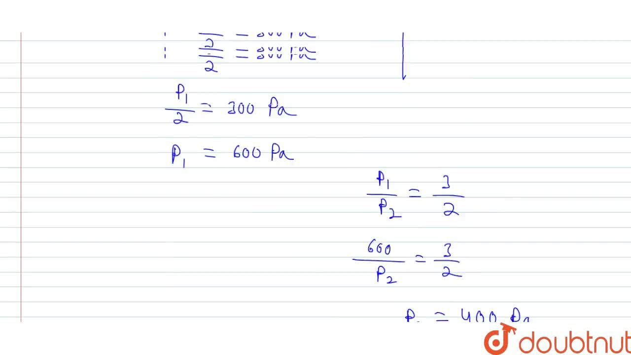 Solution for Two identical constaners A and B having same volum