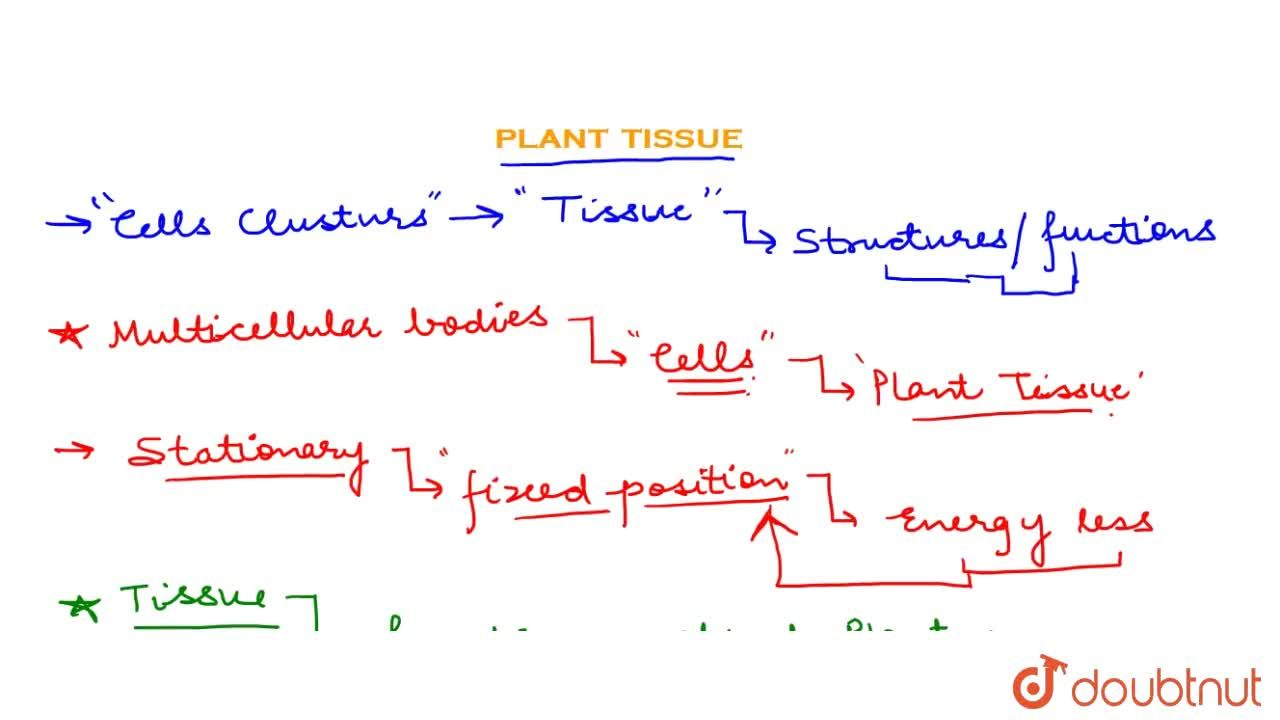 Solution for Plants Tissue