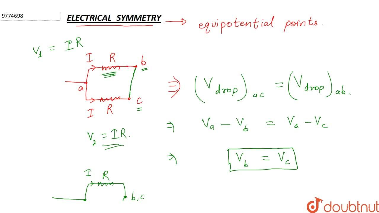 Solution for Electrical Symmetry