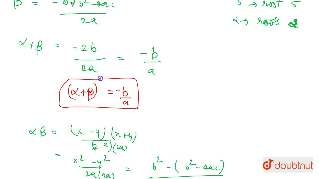 Solution for Common Formulas And Polynomials