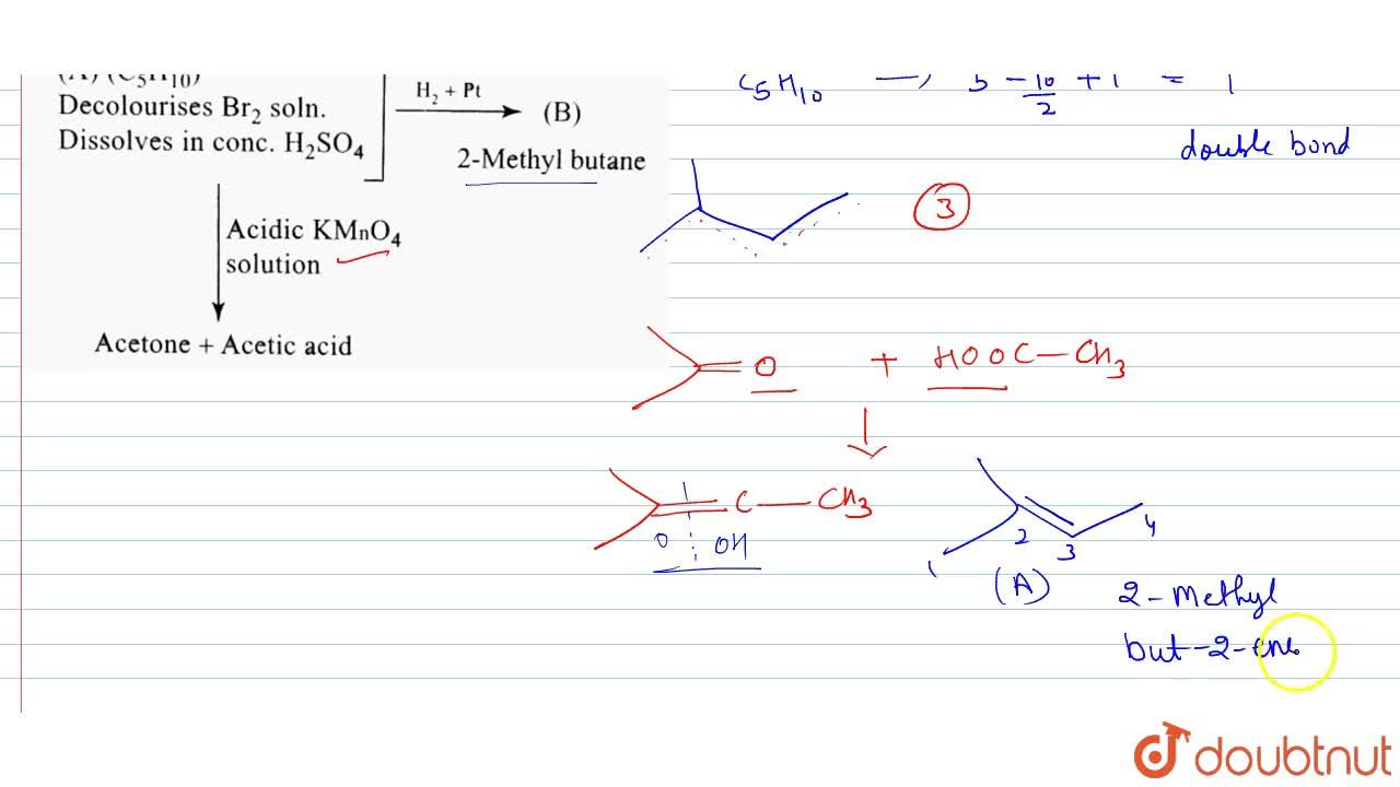"""Solution for Identify compound (A).  <br> <img src=""""https:,,d"""