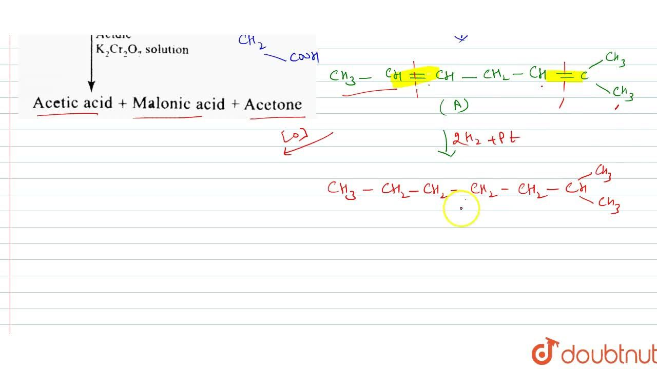 """Solution for Identify compound (A) and (B). <br> <img src="""""""