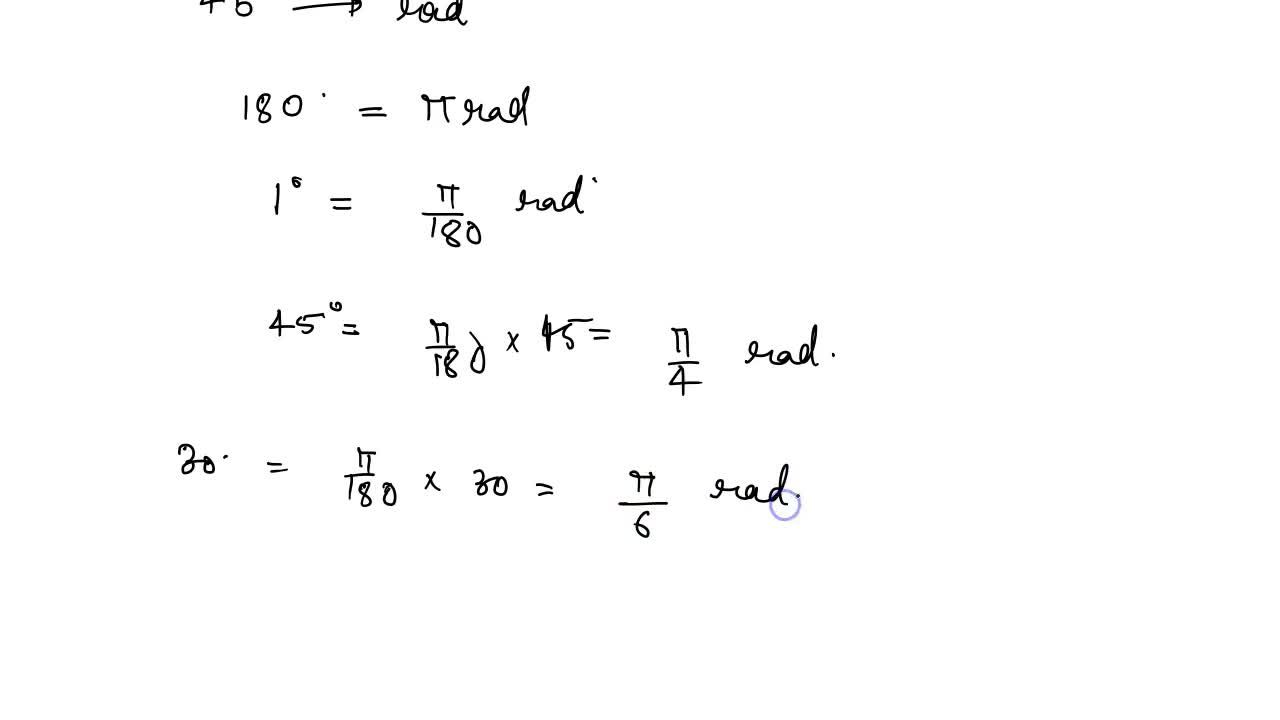 Solution for System Of Measurement Of An Angle